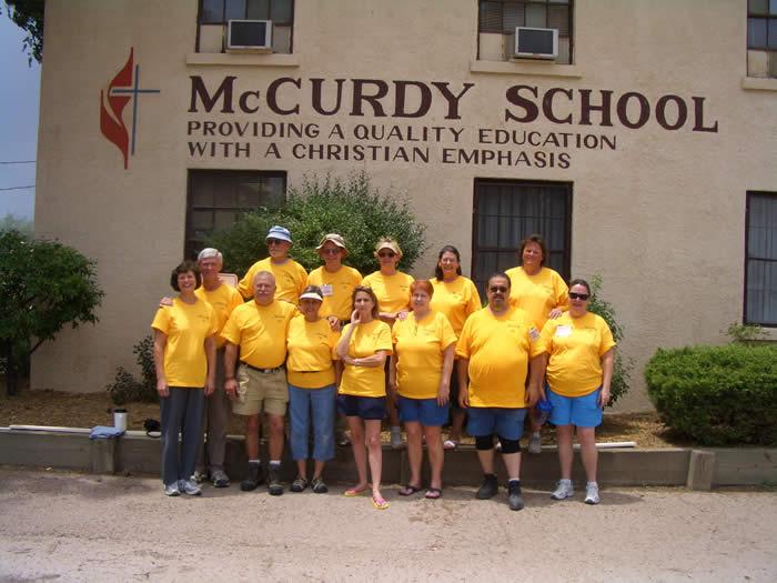 2008 Trip Participants